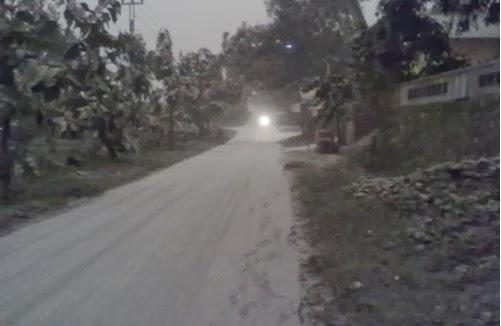Dampak letusan gunung kelud di jlokowetan