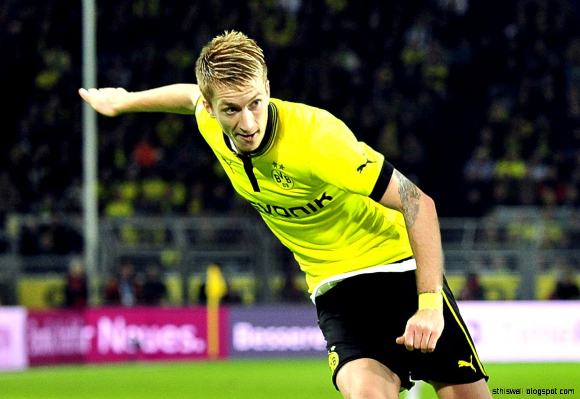 Marco Reus Hairstyle Wallpaper  Wallpicshd