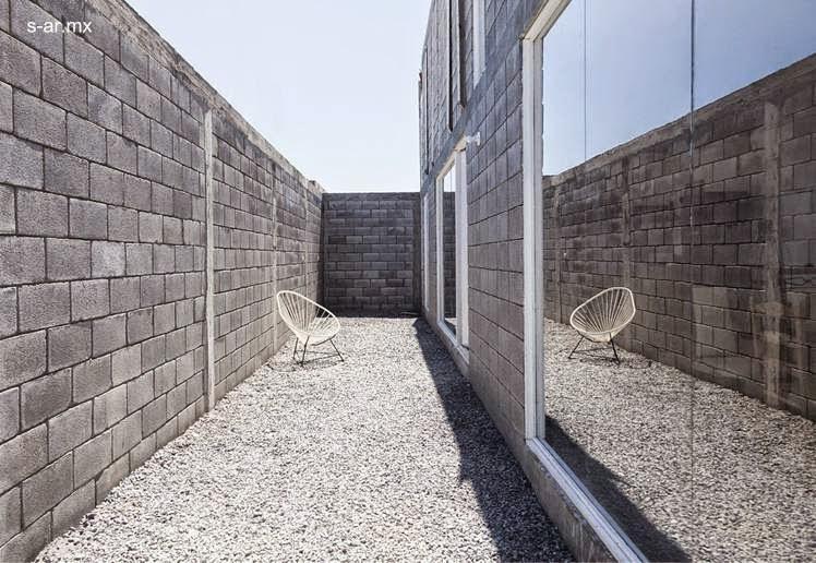 Arquitectura de casas moderna casa caja de bloques de - Bloques de hormigon bricodepot ...