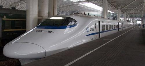 World's Fastest Train in China