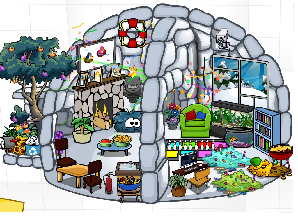 how to make a awesome igloo on club penguin