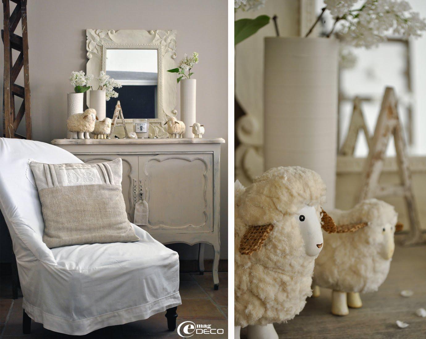 La décoration du salon d'Anny, blog Douce Étoile