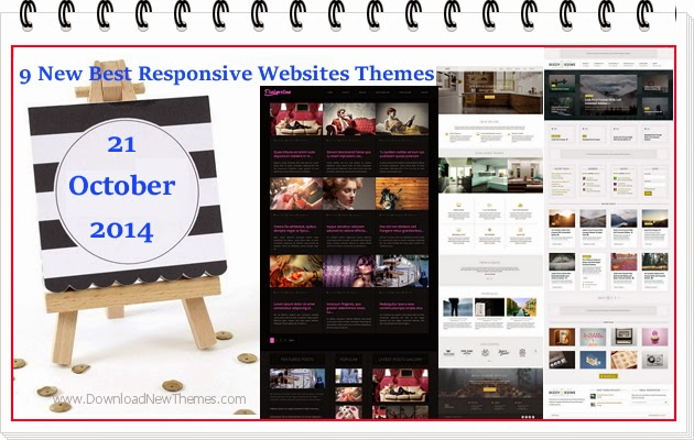 Premium Best Responsive Websites Themes