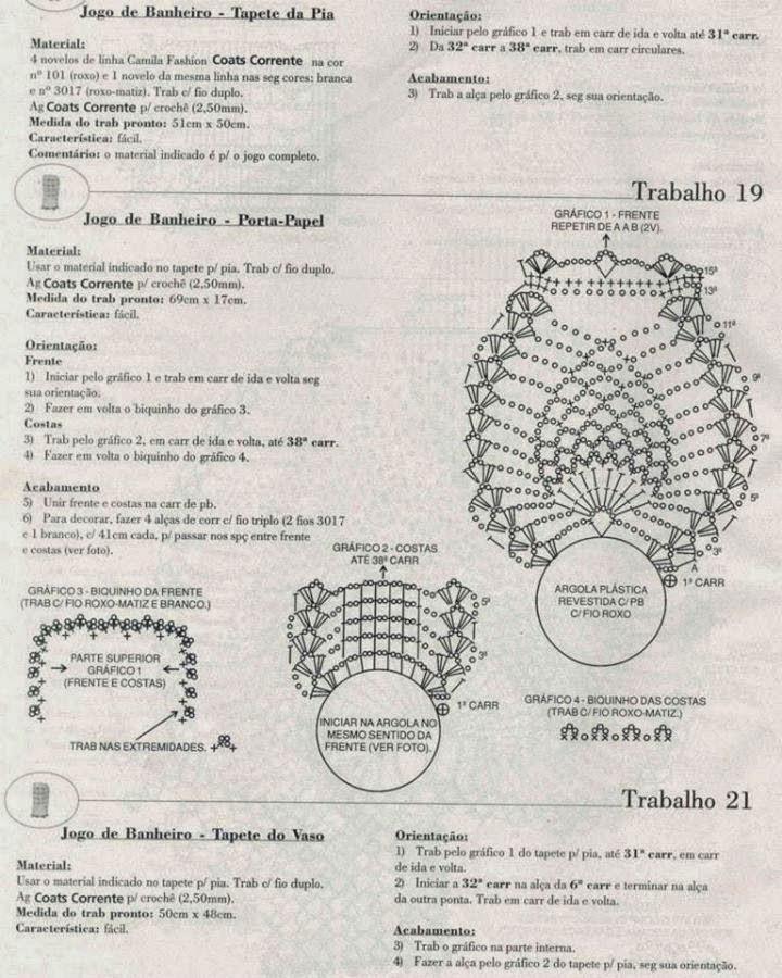 Коврик сова для туалета крючком схема и описание из ананаса