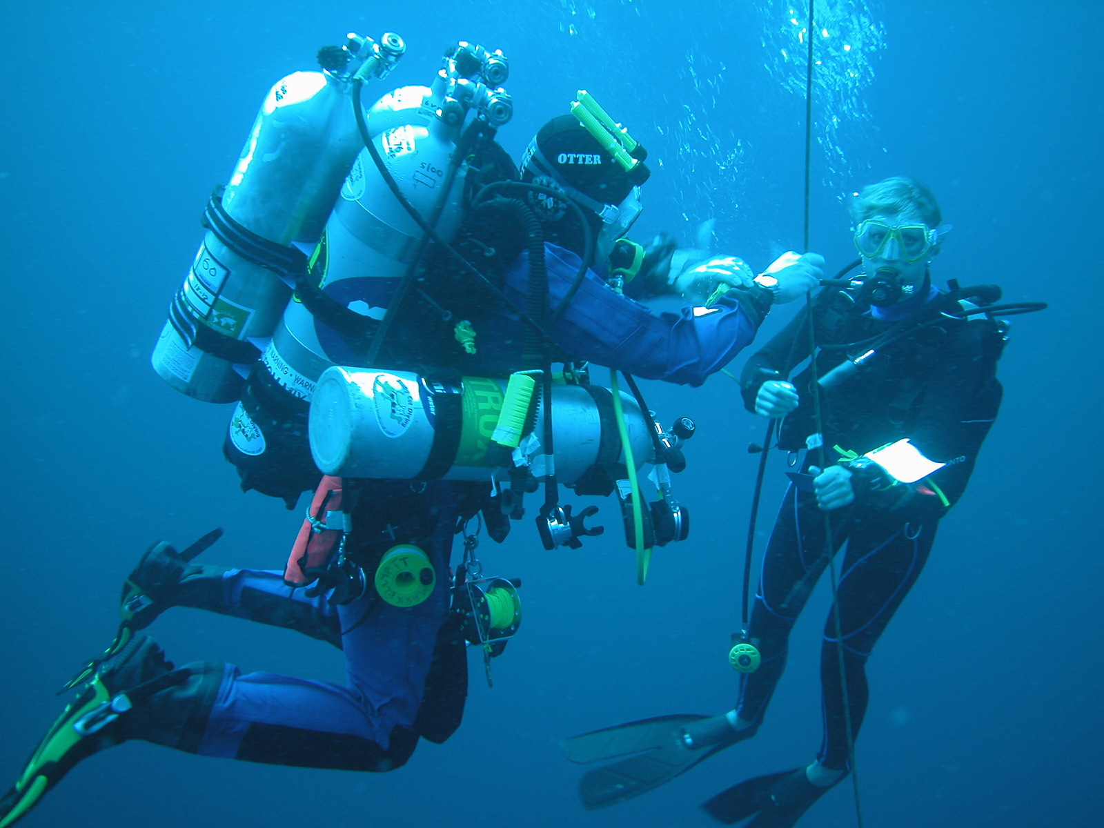 term paper on scuba diving What does open-water mean and what are the types of scuba gear called  here's a list of scuba diving words, terms, phrases and slang.