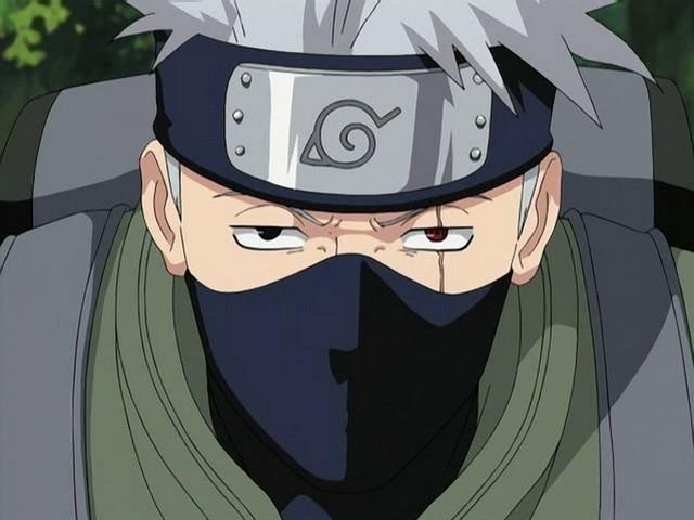 anime character  kakashi hatake