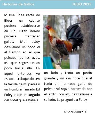 Historia de la pelea de gallos