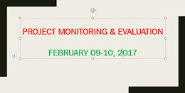 3. Project Monitoring & Evaluation