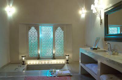 Salles de bain marocaine.