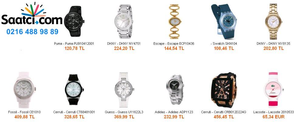 Saat fiyatları, Saat modelleri, Kol Saati