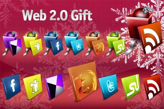 Web 2.0 Gift Icon Set