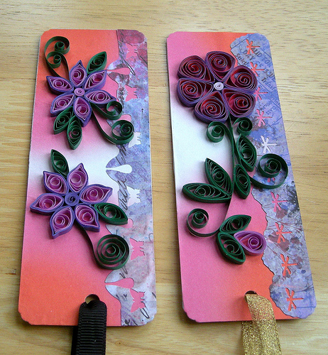 What to do with shredded paper quilling art using for Quilling paper craft ideas