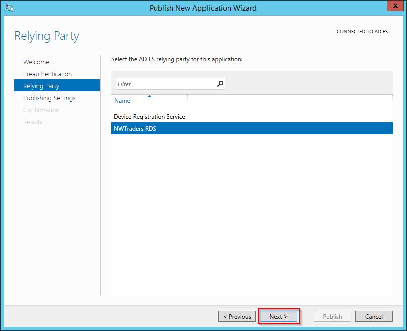 web application proxy adfs step by step