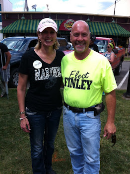 Congressional Hopeful Claudia  Teeney With Bobsledder Russ Finley