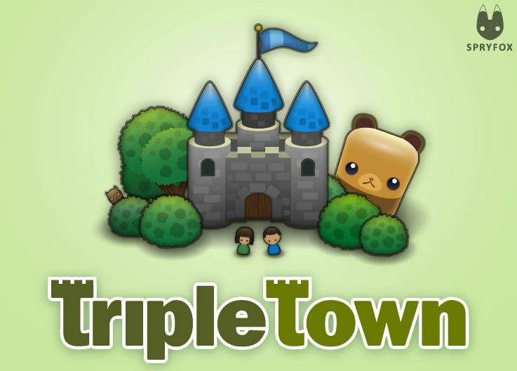Juego Triple Town de Tuenti