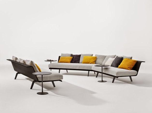 contoh model kursi dan sofa minimalist modern masa kini
