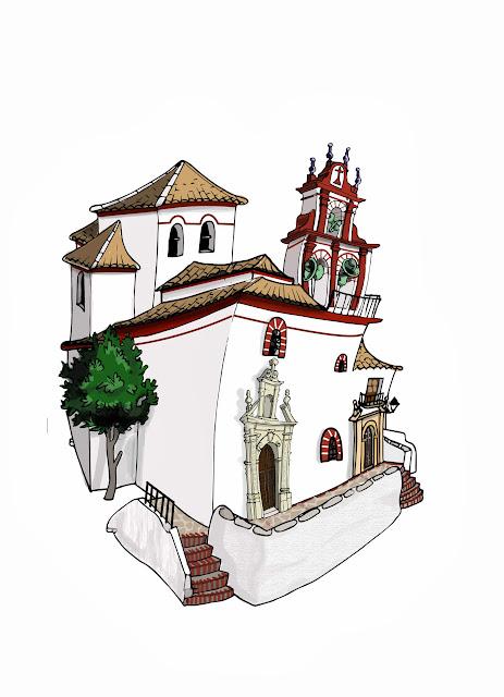 "<img src=""Iglesia San José.jpg"" alt=""Dibujo de Iglesia de Grazalema"">"