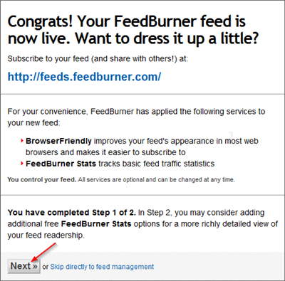 Cara Daftarkan Blog ke RSS Feedburner
