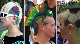 Model Gaya Rambut Unik dan Aneh Serta Lucu