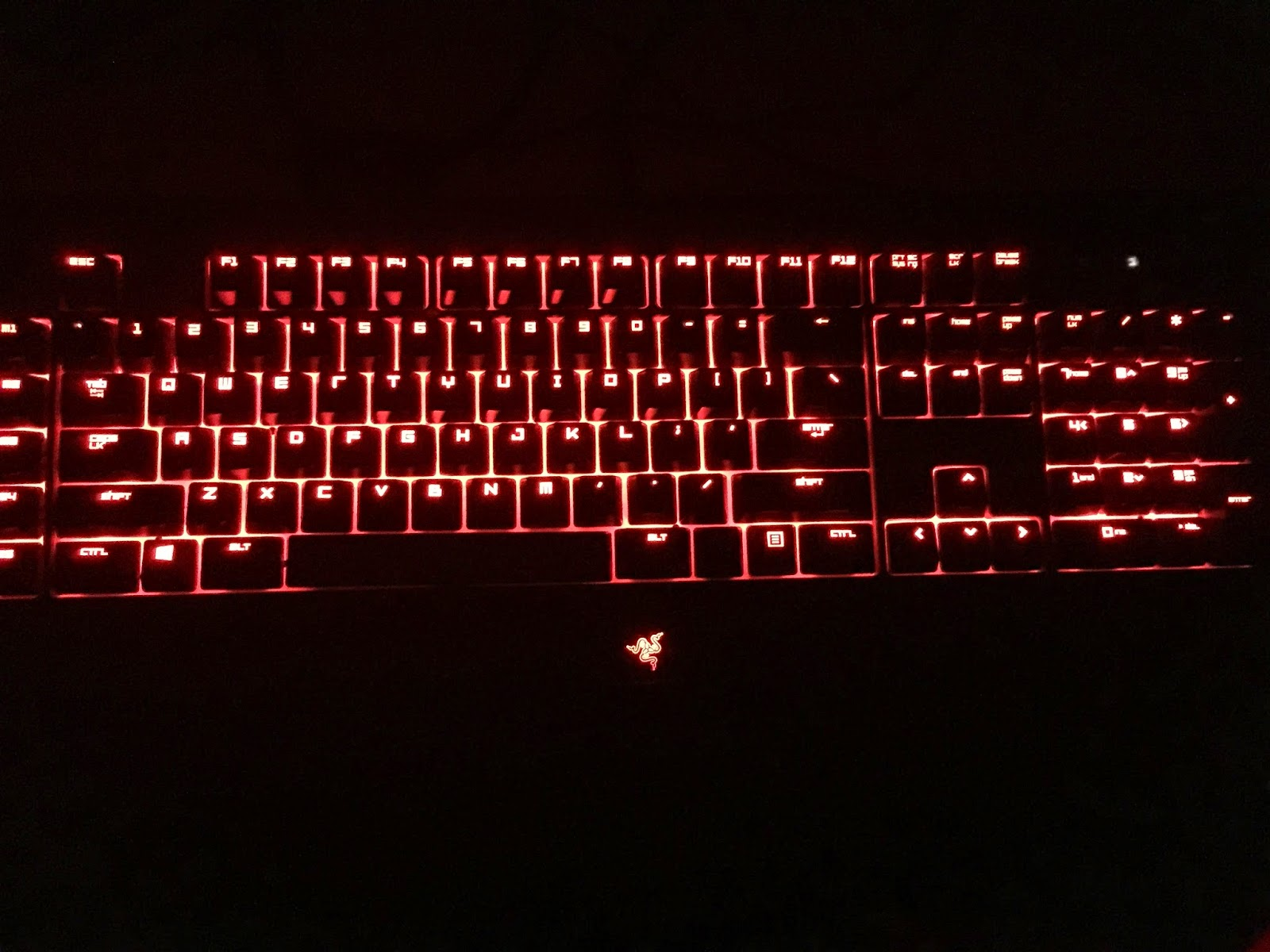 As you can see if you set the lighting to static the keyboard simply stays on the color you choose.  sc 1 st  Razer Blackwidow Chroma Keyboard & Razer Blackwidow Chroma Keyboard: Static and Spectrum Cycling