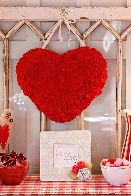 как сделать сердечко ко дню св. Валентина
