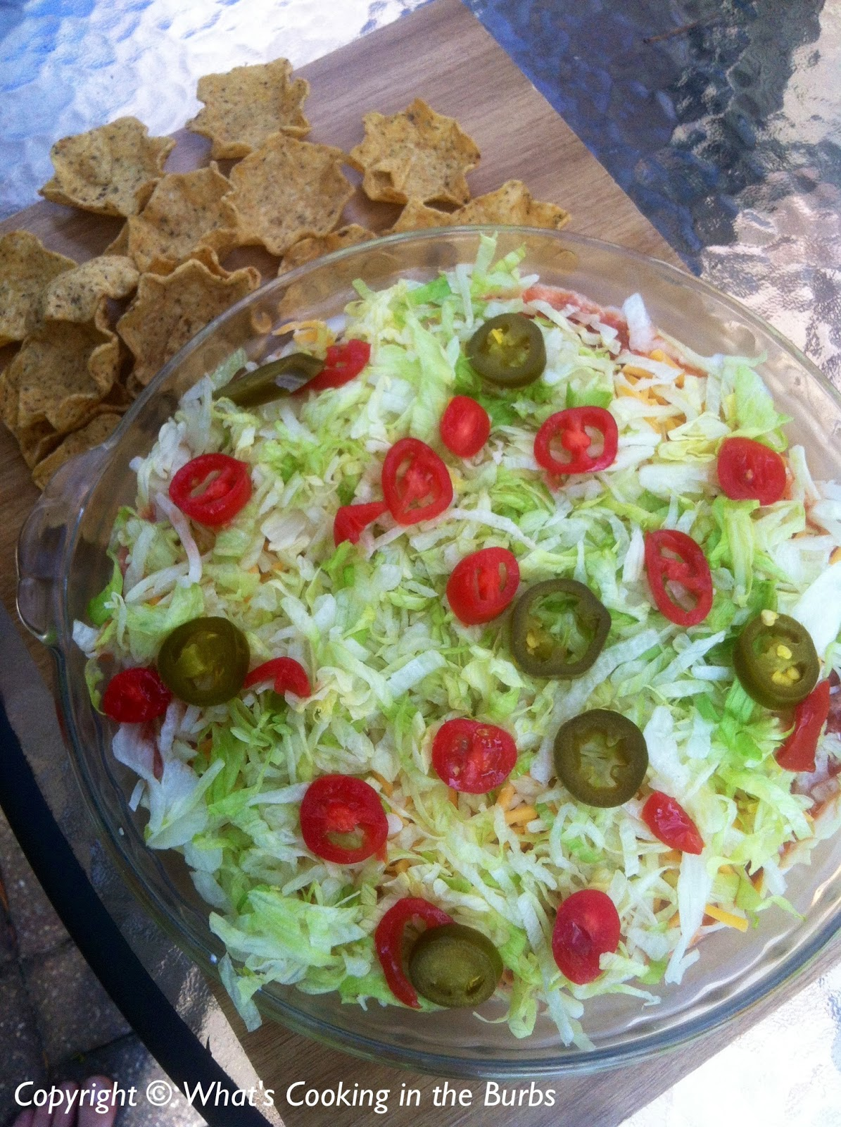 What's Cooking in the Burbs: Skinny Taco Dip