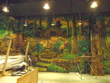 Jasa lukis dinding kreasi lukis dinding for Mural untuk kanak kanak