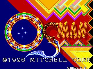 Osman arcade title screen