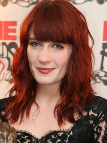 Florence Welch CHERRY BOMB red