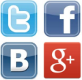 Твиттер, ВКонтакте, Facebook, Google+