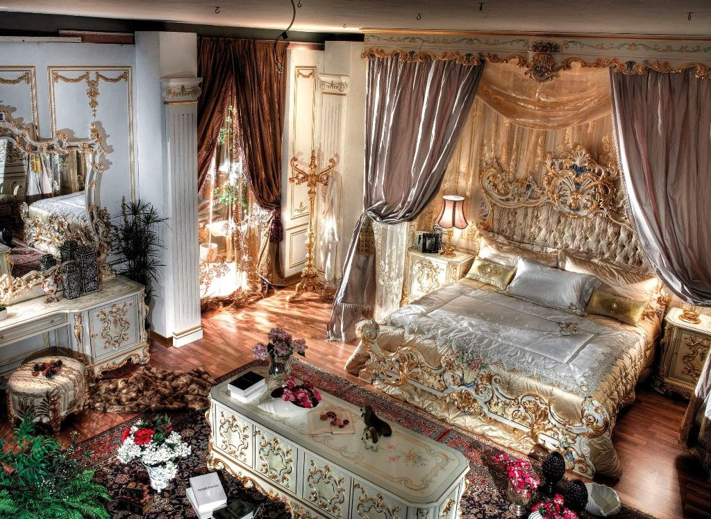 Link camp royal bedroom luxury home decoration and for Decor chambre coucher
