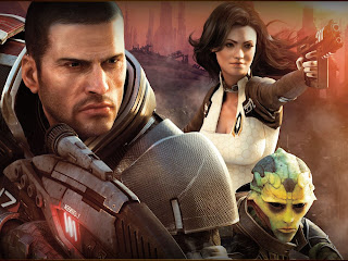 Mass Effect 2, one of Olivia's favourite video games