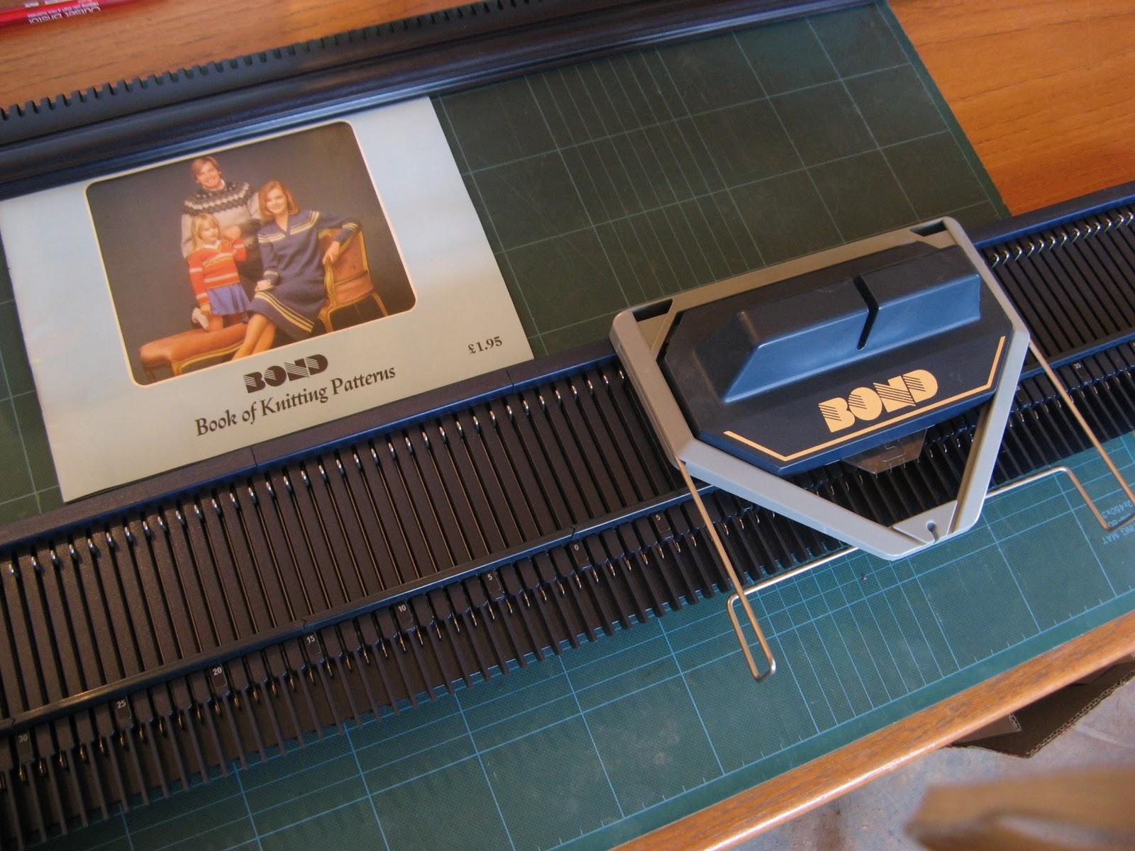 Funky Bond Knitting Machine Patterns Collection - Blanket Knitting ...