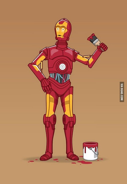 MashUp Iron Man / C3PO