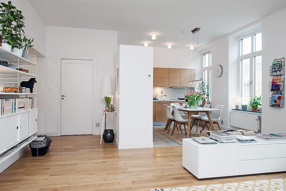 Decor me estilo n rdico con espacios abiertos for Piso estilo nordico