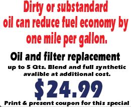 Save Money on Oil Change Deals