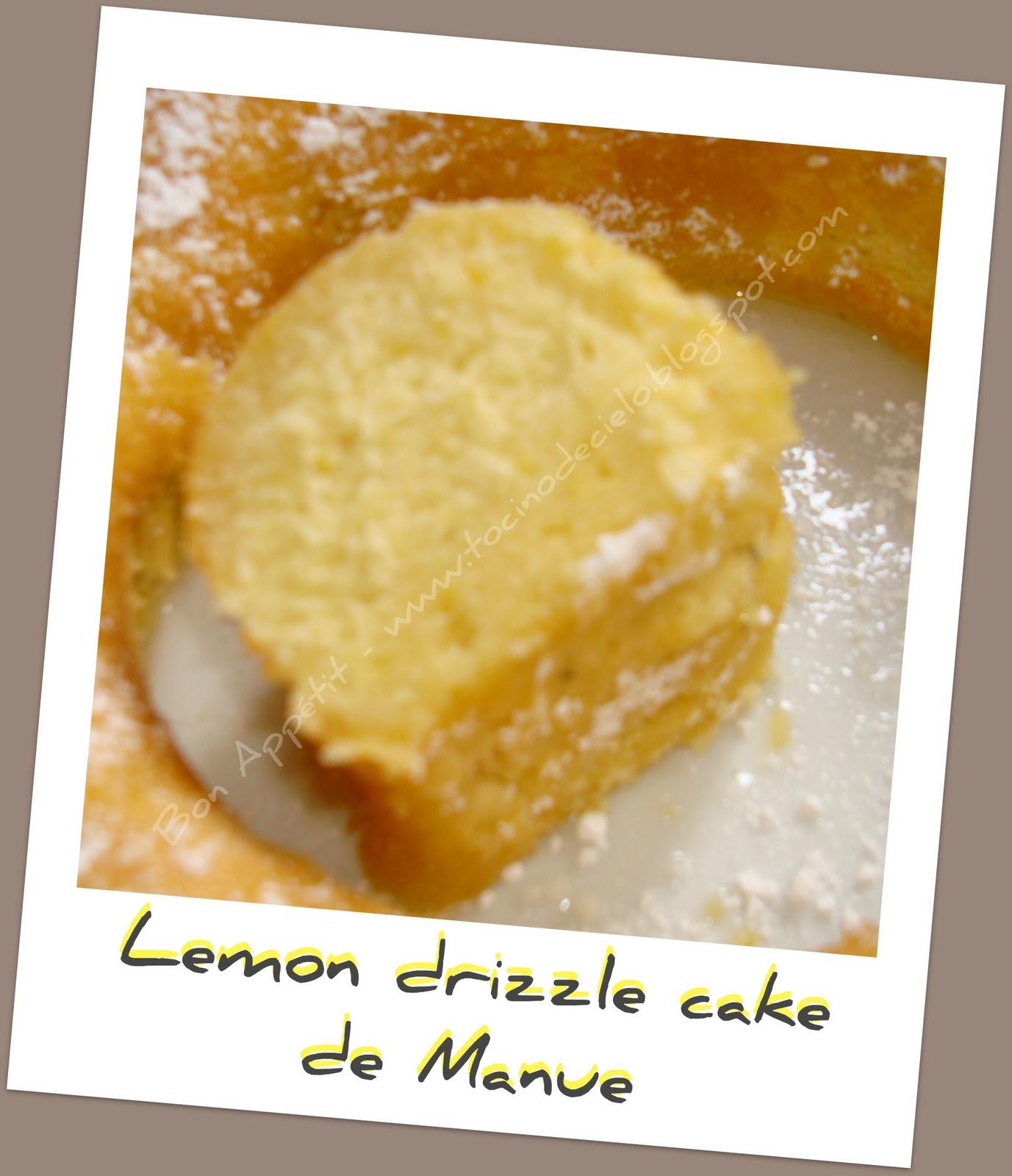 Lemon Drizzle Cake Recette