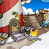 ¡Rockhopper ancla en Club Penguin!