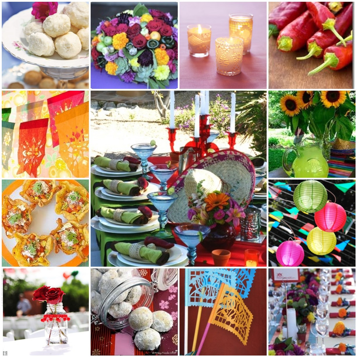Sheek Shindigs Party Inspiration A Mexican Inspired Bridal Shower