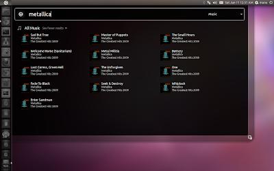 Unity Music Lens Ubuntu