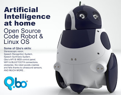 qboThecorpora Qbo, el adorable robot open source