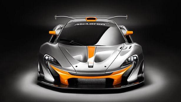 Principal modificación McLaren P1 GTR