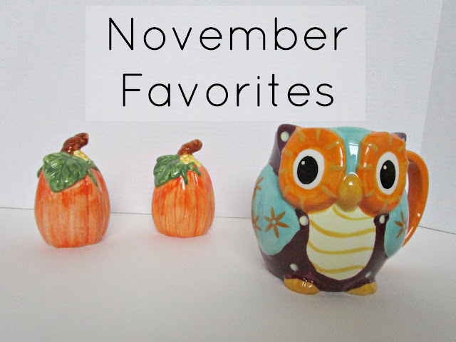 November Favorites | A few of my favorites from this month.