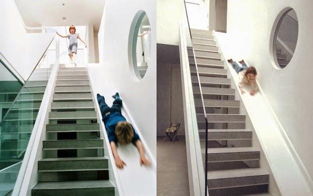 Liukumäki portaissa ei mene rakennusvalvonnasta läpi