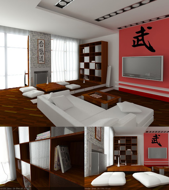 Japanese House Interior Design Ideas