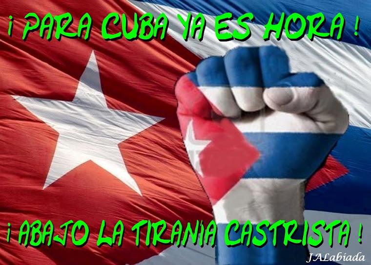 PARA CUBA YA ES HORA