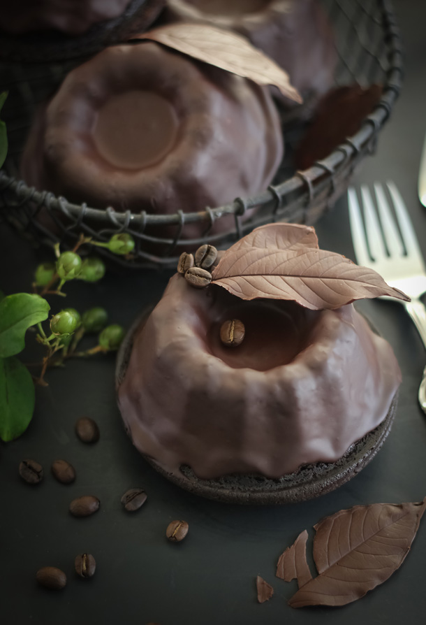 Baby Chocolate Bundt Cake (from Sprinkle Bakes) | Friday Favorites at www.andersonandgrant.com