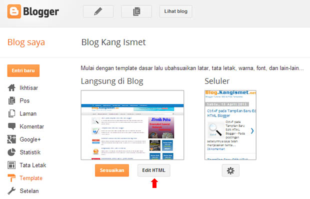 jquery for blogger
