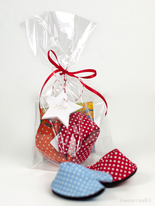 :: zweimalB :: DIY Anleitung für Glückskekse aus Stoff - ein schönes kleines Geschenk oder Giveaway