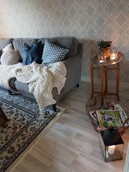 Vårt fina vardagsrum...